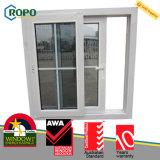 안전 석쇠를 가진 현대 집 UPVC/Pvcu 슬라이드 유리 Windows
