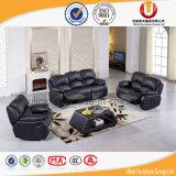 Sofa en cuir des meubles 1+2+3 à la maison modernes plus vendus (UL-ZL098)