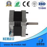 Motor de pasos de la nema 17/42*42 para la herramienta de máquina