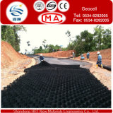 Geocell, Filling con Sandy Soil a Enginneringing e a Construction