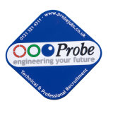 De uitstekende kwaliteit met rubber bekleedde de Zachte Onderlegger voor glazen van pvc