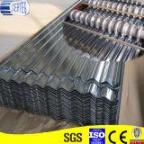 물결 모양 GI에 의하여 직류 전기를 통하는 강철판