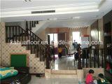 Pêche à la traîne d'escalier en bois solide de matériau de construction de qualité de DM KH