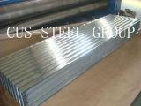電流を通された鋼鉄金属の屋根ふきか波形を付けられた電流を通された鉄シート