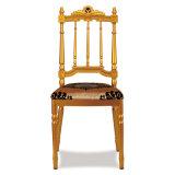 Cadeira fixa de Napoleon do casamento do coxim do alumínio branco