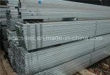 Tubo de acero cuadrado galvanizado Q345D de ERW