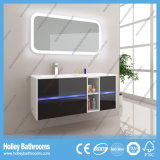 Moderner High-Gloss Lack populäre LED beleuchtet Badezimmer-Sets (B924P)