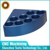 Os desenhos de trituração personalizados do chassi do metal do CNC da precisão precisaram