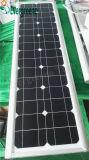 Réverbère solaire matériel du corps en aluminium DEL de lampe tout dans un