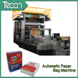 Alta velocidade Automatic Machinery Tuber de Cimento Paper Bag
