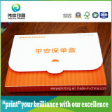 PVC Box, Folding Plastic Packaging Box della plastica per Documents