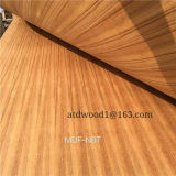 3.2mm Natural Burma Teak Face Contreplaqué Gurjan