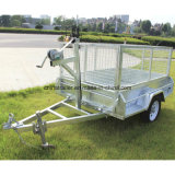 Heißes Dipped Galvanised Box Trailer mit Aluminum Toolbox