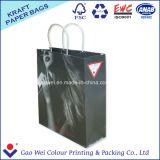 Het winkelen Document van Kraftpapier van de Zak het Witte Bag voor Kleding
