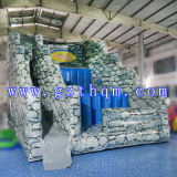 Mais recente, grande PVC inflável Slide Bouncer / PVC gigante inflável Water Slide