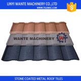 Tipo romano azulejo de azotea, azulejos de azotea revestidos de piedra del metal, material para techos del metal, azulejos de material para techos de aluminio