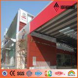 Panneau en aluminium composé de l'usine PVDF de Guangdong de produit professionnel d'ACP