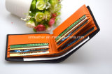 Fashion Short Trifold Wallets Leather for Business Gift
