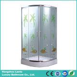 Sitio de ducha simple vendedor superior del vidrio de desplazamiento (LTS-825G)