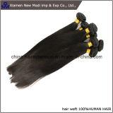 Pelo humano recto de la extensión brasileña del pelo humano