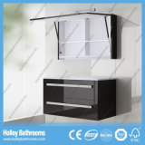 Modern High-Gloss Paint Popular LED Lights Bathroom Sets (B924P)