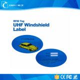 Auto die van de Markering RFID van het inlegsel de Waterdichte de Auto Elektronische Markering RFID volgen van de Inzameling van de Tol UHF
