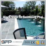 극복하거나 수영장 포장 수영풀을%s 자연적인 까만 슬레이트