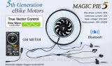 Kit elettrico di conversione del motore del mozzo della bici del grafico a torta 5 di seno del regolatore programmabile magico dell'onda con approvazione del Ce