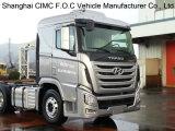 Tracteur de la Chine Sichuan Hyundai Xcient Trago 4X2 (CHM4180KPQ39M)