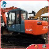 Hitachi utilisé Mini Hydraulic Crawler Excavator (peindre, ex120-3, Bucket-0.3m3)