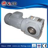 Reductor engranado unidad helicoidal del engranaje de gusano de la serie S para la máquina de elevación