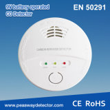 Alarm van Co van de Detector van de Koolmonoxide van Peasway 9V het Batterij In werking gestelde Met Certificatie En50291 (pw-918W)