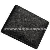 2016 изготовленный на заказ бумажник черноты RFID типа кожаный для людей