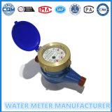 Mètre sec d'écoulement d'eau de Tubine de cadran de fer de moulage