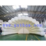 Shell de Opblaasbare Tent van de Vorm, de Witte Opblaasbare Tent Van uitstekende kwaliteit van pvc
