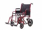"""Сверхмощная стальная кресло-коляска перехода, 20 """" /22 """" ширин места, тяжеловесная емкость"""