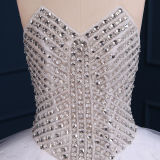 Gorgeous Beading Crystal Sequined Tulle Ball Gown Wedding Dresses (TM-BG051)