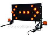 Muestras de la flecha direccional LED de la emergencia al aire libre estándar de Optraffic que contellean Australia