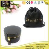 Forme en cuir de dôme de cadre de bijou d'unité centrale de coutume de luxe chaude de vente de l'usine 2016 de la Chine (8214)