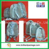PVCおよびポリエステル子供のバックパック学生袋