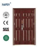 販売法の井戸デザイン母息子の鋼鉄ドア(RA-S154)