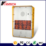 Teléfono Emergency al aire libre de Kntech para el teléfono seguro Knzd-33 del proyecto LED de la ciudad