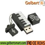 Flash Drive Оптовая 3D Пианино ПВХ USB для выдвиженческого подарка
