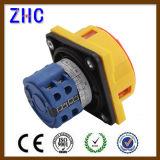 Interruttore di camma rotativo di Changover di 20A 25A 30A 40A 50A 63A 1p 2p 3p 4p 7p 10p di posizione 1-0-2 del selettore elettrico europeo del voltmetro