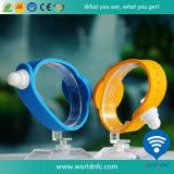 Bracelet ultra-léger de silicones de l'IDENTIFICATION RF EV1 de la fréquence 13.56MHz