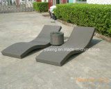Lounger фаэтона Lounger Sun мебели пляжа Foshan Rattanoutdoor складывая