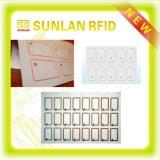 Marqueterie en plastique d'IDENTIFICATION RF pour la disposition sans contact/de contact Smart Card 3*7