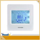 LEDデジタル部屋の調節可能な手動リセットの床下から来る暖房のサーモスタット