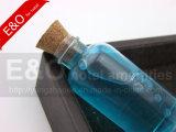 40mlコルクのふたが付いているプラスチックボディ洗浄ビン