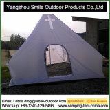 Spitzeteepee-wasserdichte sehr große weiße Kirche-kampierendes Zelt